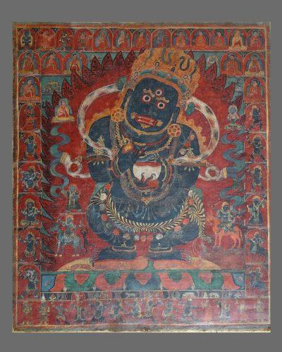 Mahakala Panjaranatha (Tib.: Gurgompo )