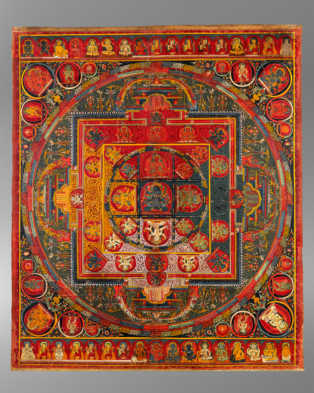 Mandala of Guhyasamaja