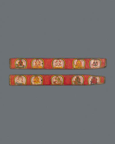 Pair of Manuscript Covers