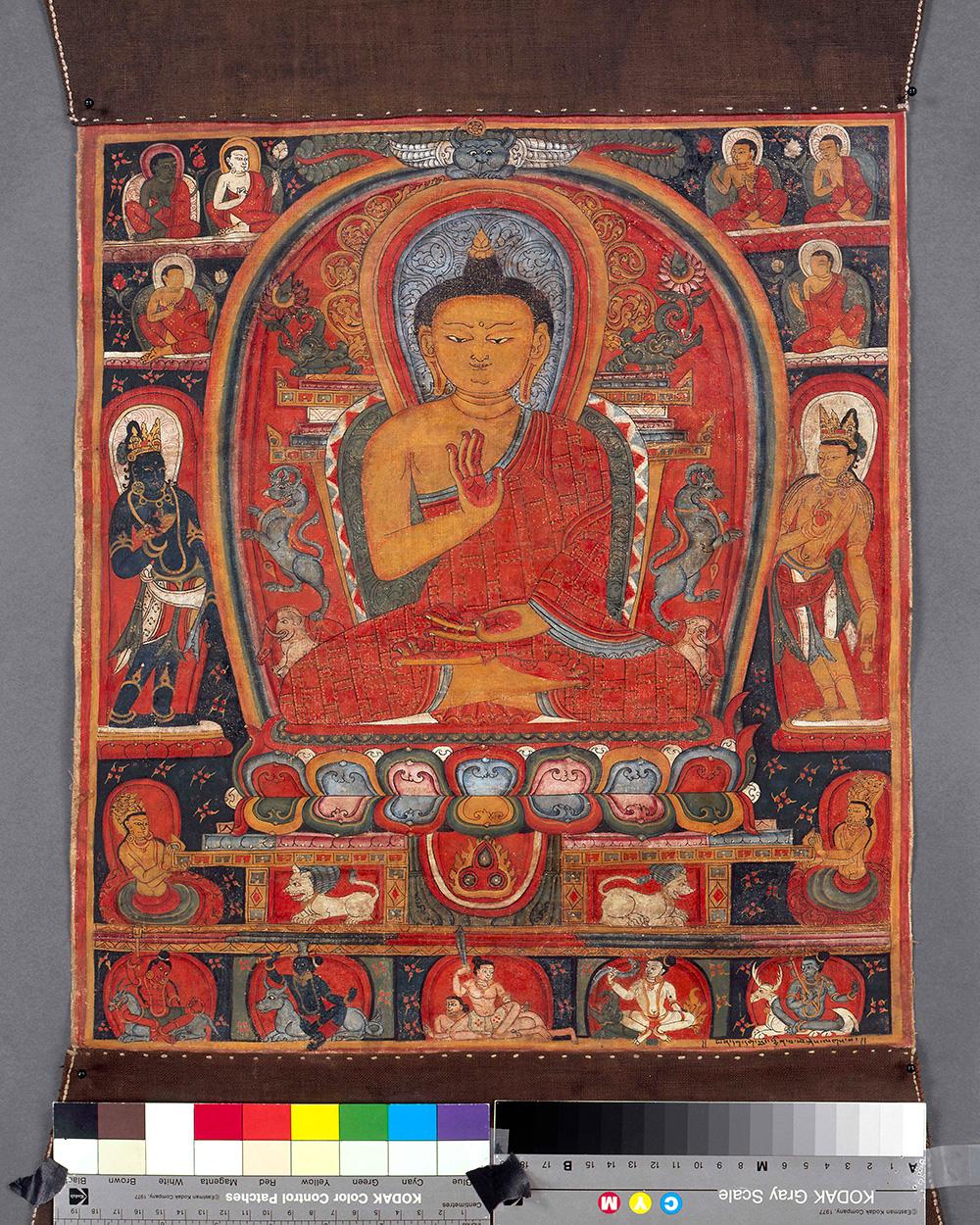 Buddha Shakyamuni with Attendants