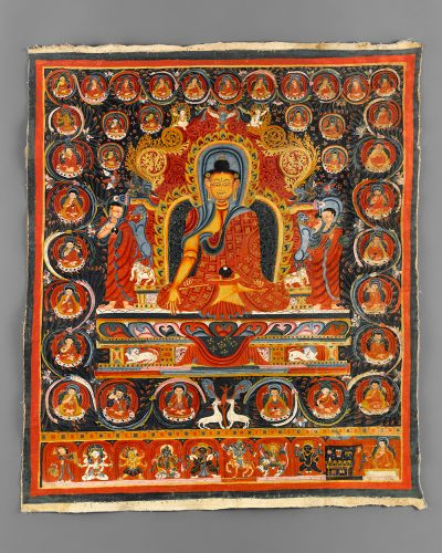 Enthroned Shakyamuni