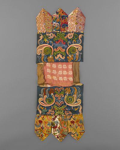 Silk Embroidered Banner