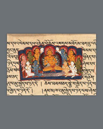 Vairocana Buddha Teaching